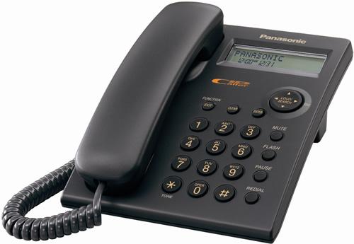 Panasonic Caller Id Phone 40db Handset Volume For Hearing Impaired Black