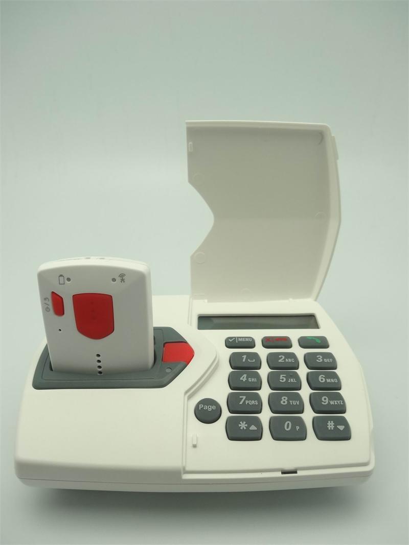 2 way talking sos pendant phone with man down function aloadofball Gallery